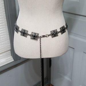 Accessories - Ornate Metal Accessory Belt